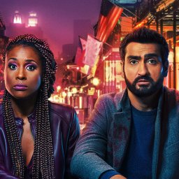 issa rae and kumail nanjiani