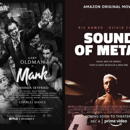 mank and sound of metal posters.